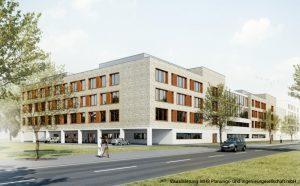 Neubau OP- und Funktionsgebäude
