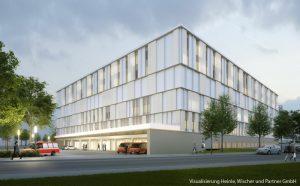 Neubau Krankenhausgebäude